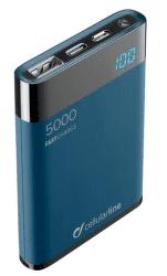 CellularLine FreePower Manta HD powerbanka 5000 mAh, modrá