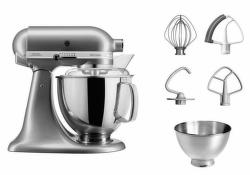 KitchenAid Artisan5KSM175PSECU (stříbrný)