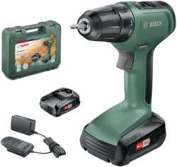 Bosch UniversalDrill 18 AKU vrtačka + 2 ks aku 18V/1,5Ah + kufr