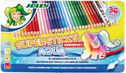 Jolly Supersticks Aqua 36 pastelek