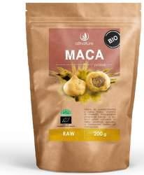 Allnature Maca prášek BIO RAW 200 g doplněk stravy
