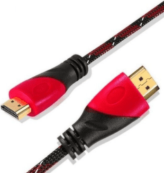 Ecolite HDMI-YWD-HD02-V2 HDMI kabel 1,5m černo-červený
