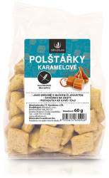Allnature polštářky karamelové bezlepkové 60 g