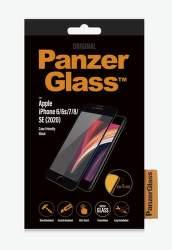 PanzerGlass ochranné tvrzené sklo pro Apple iPhone SE 2020/8/7/6s/6, černá
