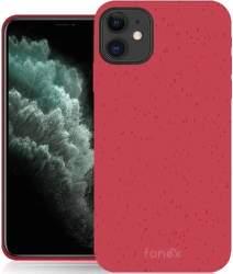 Fonex Green Mood pouzdro pro Apple iPhone 11 červené