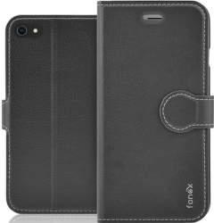 Fonex Identity flipové pouzdro pro Apple iPhone SE 2020/8/7 černé