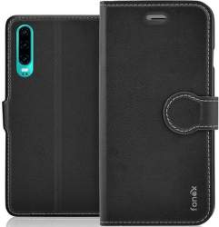 Fonex Identity flipové pouzdro pro Huawei P30 černé