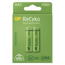GP ReCyko HR06 (AA) 1300 mAh 2 ks