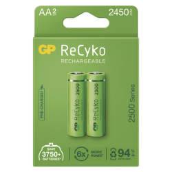 GP ReCyko HR06 (AA) 2 450 mAh 2 ks