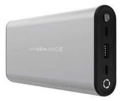 HyperJuice powerbanka 27 000 mAh stříbrná