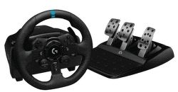 Logitech G923 TRUEFORCE Sim Racing Wheel (PS5, PS4, PC) černý