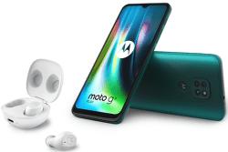 Motorola Moto G9 Play zelený + Moto Buds