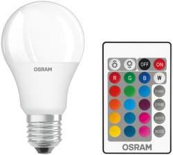 OSRAM ST CLAS A 60 RGBW 60 FR 9 W/2700K E27