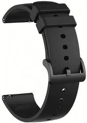 Xiaomi silikonový univerzální řemínek 20 mm černý