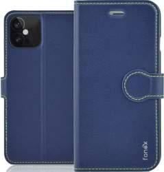 Fonex Identity flipové pouzdro pro Apple iPhone 12/12 Pro modré