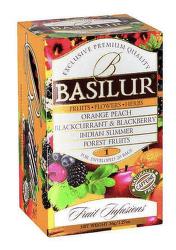Basilur Fruit Infusions Assorted 36g ovocný čaj