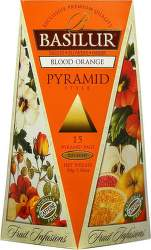 Basilur Fruit Blood Orange Pyramid 30g ovocný čaj