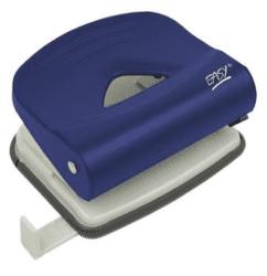 Easy 1250 kovová děrovačka na 25 listů modrá