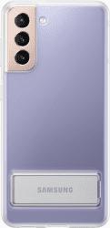 Samsung Clear Standing pouzdro pro Samsung Galaxy S21 transparentní