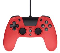 Gioteck VX4 Premium Wired Controller pro PS4/PC červený