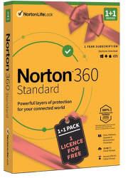 Norton 360 Standard 1Z/1R + 1 licence zdarma