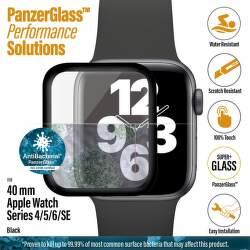 PanzerGlass ochranné sklo pro chytré hodinky Apple Watch SE,series 4, 5 a 6 40 mm černá