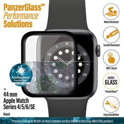 PanzerGlass ochranné sklo pro chytré hodinky Apple Watch SE, series 4, 5 a 6 44 mm černá