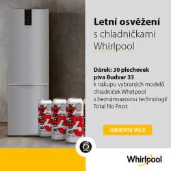 Dárek k volně stojícím chladničkám Whirlpool