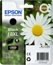 Epson T1811 18XL black (sedmokráska) - inkoustová náplň