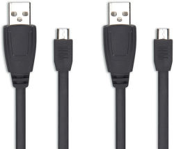 SpeedLink SL-2508-BK STREAM Play & Charge Cable Set - Xbox One (černá)
