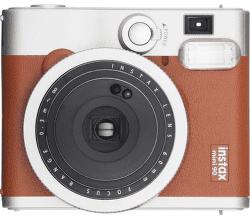Fujifilm Instax Mini 90 hnědý + Pouzdro + 10ks filmů