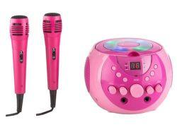 Auna SingSing růžový karaoke systém