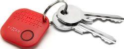 Fixed Smile Bluetooth klíčenka, červená