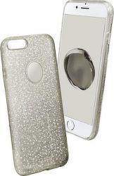 SBS Sparky Glitter pouzdro pro iPhone 7 Plus/8 Plus, stříbrná