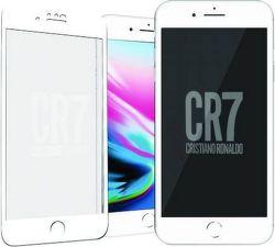 PanzerGlass CR7 tvrzené sklo pro iPhone 8/7, bílá