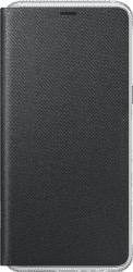 Samsung Neon Flip Cover pro Galaxy A8 2018, černé