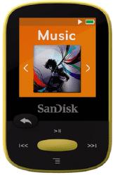 SanDisk Sansa Clip Sports 8 GB žlutý