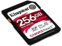 Kingston Canvas React microSDXC U3 UHS-I 256 GB
