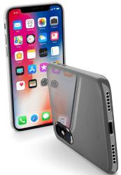 Cellular Line Zero ultratenké pouzdro pro iPhone X, transparentní