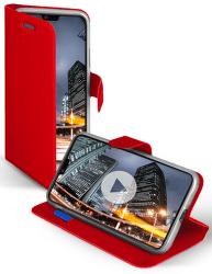 SBS Book Sense pouzdro pro Huawei P20 Lite, červená
