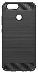 Winner Carbon pouzdro pro Huawei P Smart, černé