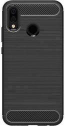 Winner Carbon pouzdro pro Huawei P20 Lite, černé