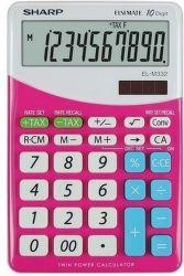 Sharp EL-M332BPK (růžová) - Stolní kalkulačka