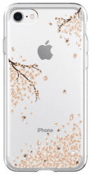 Spigen Liquid Crystal pouzdro pro Apple iPhone 7/8/SE 2020, transparentní s motivem