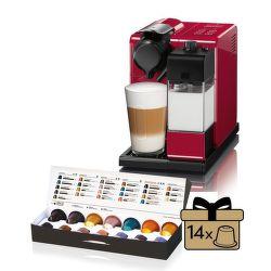 Nespresso DéLonghi Lattissima Touch EN550.R vystavený kus splnou zárukou