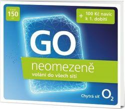 O2 GO neomezeně, SIM karta