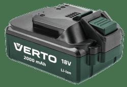 Verto K75657-0, AKU 18V/2,0AH