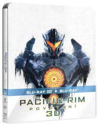 Pacific Rim: Povstaní (Steelbook) - 3D + 2D Blu-ray film
