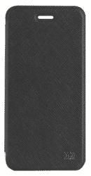 Xqisit Flap Cover Adour pouzdro pro iPhone 8/7/6S/6, černé