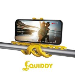 Celly Squiddy žlutý, flexibilní držák